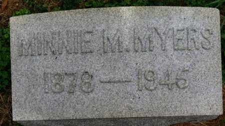 MYERS, MINNIE M. - Marion County, Ohio | MINNIE M. MYERS - Ohio Gravestone Photos