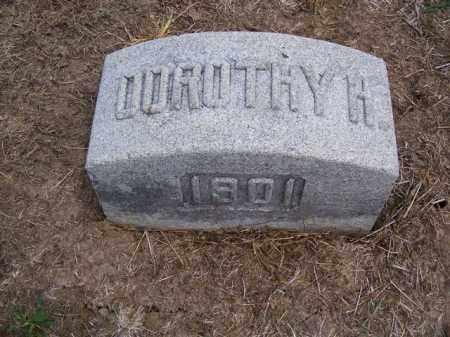 MYLES, DOROTHY H. - Marion County, Ohio | DOROTHY H. MYLES - Ohio Gravestone Photos