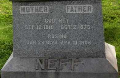 NEFF, ROSINA - Marion County, Ohio | ROSINA NEFF - Ohio Gravestone Photos