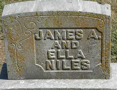NILES, ELLA - Marion County, Ohio | ELLA NILES - Ohio Gravestone Photos
