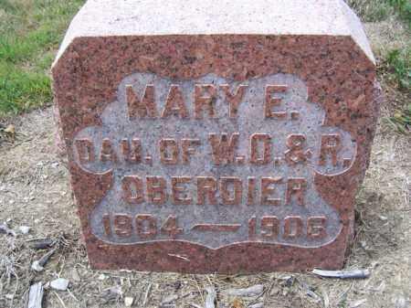 OBERDIER, MARY E. - Marion County, Ohio | MARY E. OBERDIER - Ohio Gravestone Photos