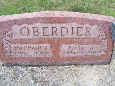 OBERDIER, WM ORANUS - Marion County, Ohio | WM ORANUS OBERDIER - Ohio Gravestone Photos