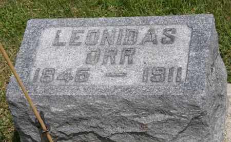 ORR, LEONIDAS - Marion County, Ohio | LEONIDAS ORR - Ohio Gravestone Photos