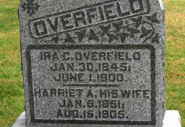 OVERFIELD, IRA C. - Marion County, Ohio | IRA C. OVERFIELD - Ohio Gravestone Photos