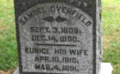 OVERFIELD, SAMUEL - Marion County, Ohio | SAMUEL OVERFIELD - Ohio Gravestone Photos