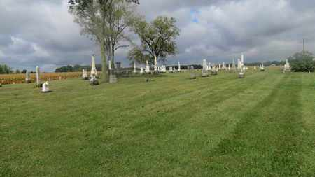 OVERVIEW, BONNER CEMETERY - Marion County, Ohio | BONNER CEMETERY OVERVIEW - Ohio Gravestone Photos