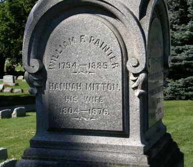 MITTON PAINTER, HANNAH - Marion County, Ohio | HANNAH MITTON PAINTER - Ohio Gravestone Photos