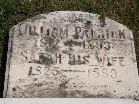 PATRICK, WILLIAM - Marion County, Ohio | WILLIAM PATRICK - Ohio Gravestone Photos