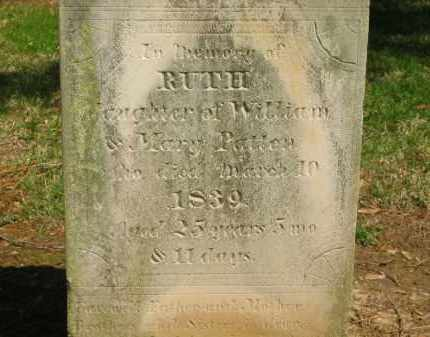 PATTEN, RUTH - Marion County, Ohio | RUTH PATTEN - Ohio Gravestone Photos