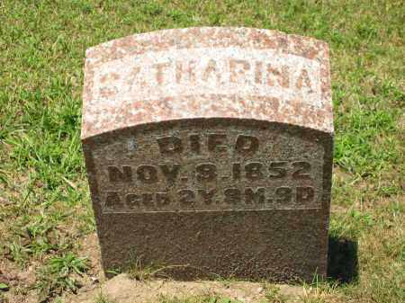 PFEIFER, CATHARINA - Marion County, Ohio | CATHARINA PFEIFER - Ohio Gravestone Photos