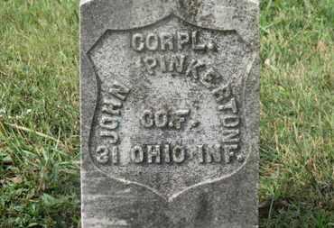 PINKERTON, JOHN - Marion County, Ohio | JOHN PINKERTON - Ohio Gravestone Photos
