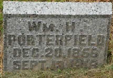 PORTEDFIELD, WM. H. - Marion County, Ohio | WM. H. PORTEDFIELD - Ohio Gravestone Photos