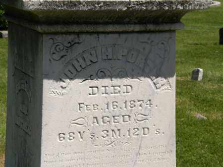 PORTER, JOHN H. - Marion County, Ohio | JOHN H. PORTER - Ohio Gravestone Photos