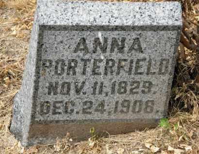 PORTERFIELD, ANNA - Marion County, Ohio | ANNA PORTERFIELD - Ohio Gravestone Photos