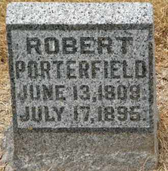 PORTERFIELD, ROBERT - Marion County, Ohio | ROBERT PORTERFIELD - Ohio Gravestone Photos