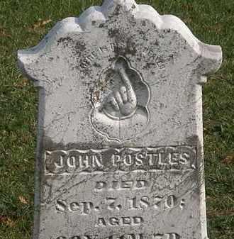 POSTLES, JOHN - Marion County, Ohio | JOHN POSTLES - Ohio Gravestone Photos