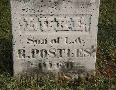 POSTLES, LUKE - Marion County, Ohio | LUKE POSTLES - Ohio Gravestone Photos