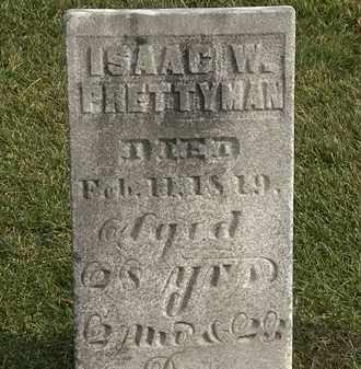 PRETTYMAN, ISAAC W. - Marion County, Ohio | ISAAC W. PRETTYMAN - Ohio Gravestone Photos