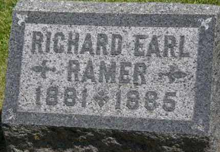 RAMER, RICHARD EARL - Marion County, Ohio | RICHARD EARL RAMER - Ohio Gravestone Photos