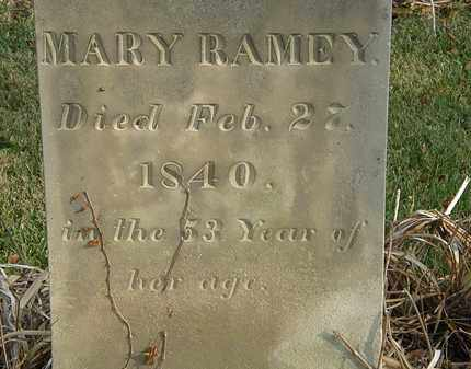 RAMEY, MARY - Marion County, Ohio | MARY RAMEY - Ohio Gravestone Photos