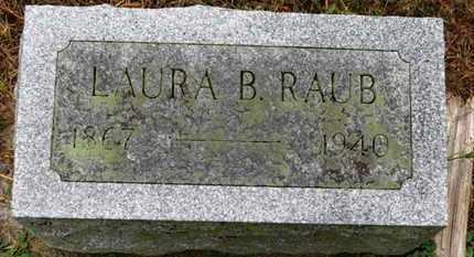 RAUB, LAURA B. - Marion County, Ohio | LAURA B. RAUB - Ohio Gravestone Photos