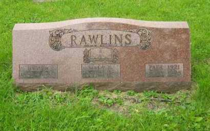 RAWLINS, PAUL - Marion County, Ohio | PAUL RAWLINS - Ohio Gravestone Photos