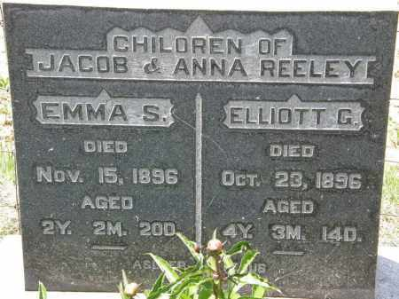 REELEY, EMMA S. - Marion County, Ohio | EMMA S. REELEY - Ohio Gravestone Photos