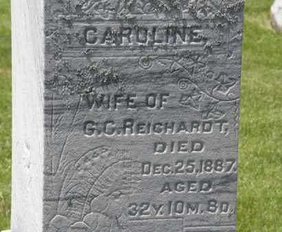 REICHARDT, CAROLINE - Marion County, Ohio | CAROLINE REICHARDT - Ohio Gravestone Photos