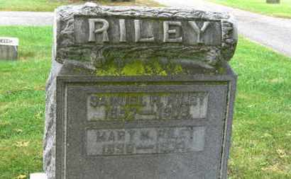 RILEY, MARY M. - Marion County, Ohio | MARY M. RILEY - Ohio Gravestone Photos