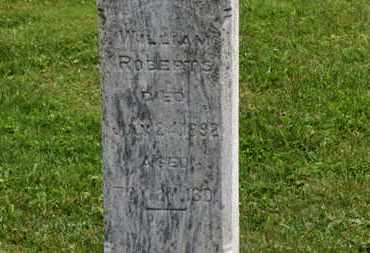 ROBERTS, WILLIAM - Marion County, Ohio | WILLIAM ROBERTS - Ohio Gravestone Photos