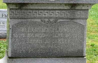 ROBINSON, ALEXANDER - Marion County, Ohio | ALEXANDER ROBINSON - Ohio Gravestone Photos