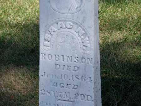 ROBINSON, ISAAC N. W. - Marion County, Ohio | ISAAC N. W. ROBINSON - Ohio Gravestone Photos