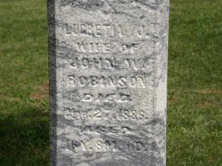 ROBINSON, JOHN W. - Marion County, Ohio | JOHN W. ROBINSON - Ohio Gravestone Photos