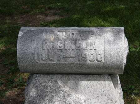 ROBINSON, LAURA B. - Marion County, Ohio | LAURA B. ROBINSON - Ohio Gravestone Photos