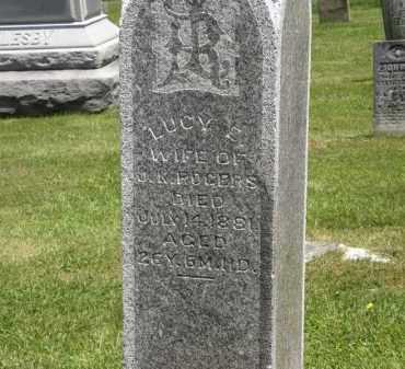 ROGERS, LUCY - Marion County, Ohio | LUCY ROGERS - Ohio Gravestone Photos