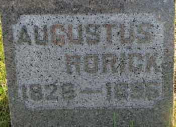 RORICK, AUGUSTUS - Marion County, Ohio | AUGUSTUS RORICK - Ohio Gravestone Photos