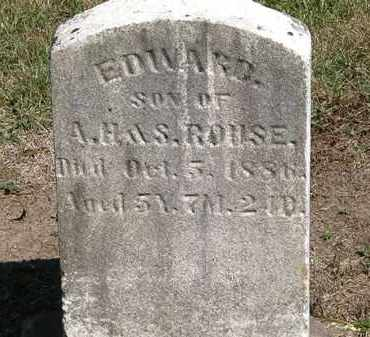 ROUSE, A.H. - Marion County, Ohio | A.H. ROUSE - Ohio Gravestone Photos