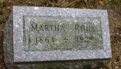 ROUX, MARTHA - Marion County, Ohio | MARTHA ROUX - Ohio Gravestone Photos