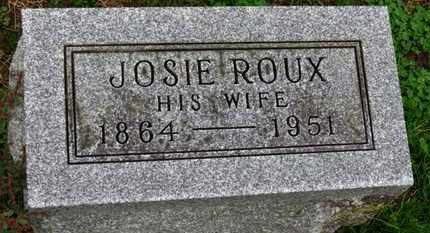 ROUX, ROSIE - Marion County, Ohio | ROSIE ROUX - Ohio Gravestone Photos