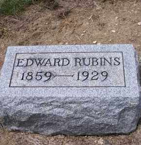 RUBINS, EDWARD - Marion County, Ohio | EDWARD RUBINS - Ohio Gravestone Photos