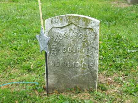 SCOBEY, GIDEON - Marion County, Ohio | GIDEON SCOBEY - Ohio Gravestone Photos