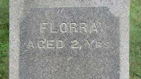 SCOTT, FLORRA - Marion County, Ohio | FLORRA SCOTT - Ohio Gravestone Photos