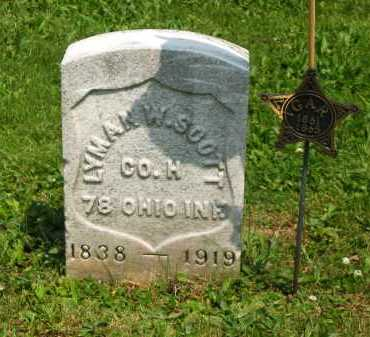 SCOTT, LYMAN W. - Marion County, Ohio | LYMAN W. SCOTT - Ohio Gravestone Photos
