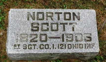 SCOTT, NORTON - Marion County, Ohio | NORTON SCOTT - Ohio Gravestone Photos