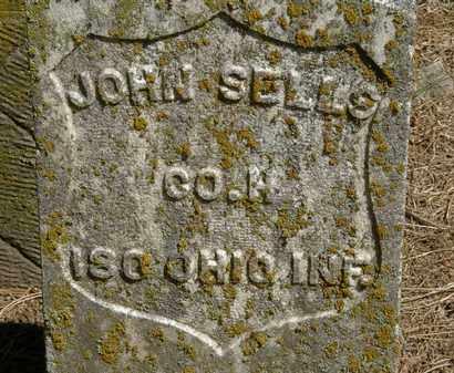 SELLS, JOHN - Marion County, Ohio | JOHN SELLS - Ohio Gravestone Photos