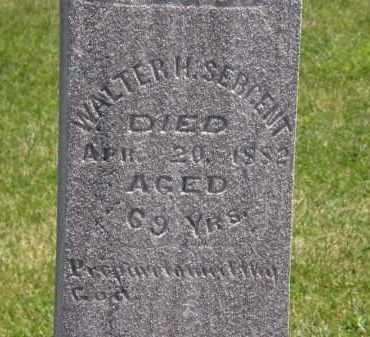 SERGENT, WALTER H. - Marion County, Ohio | WALTER H. SERGENT - Ohio Gravestone Photos