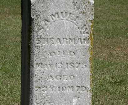 SHEARMAN, SAMUEL W. - Marion County, Ohio | SAMUEL W. SHEARMAN - Ohio Gravestone Photos