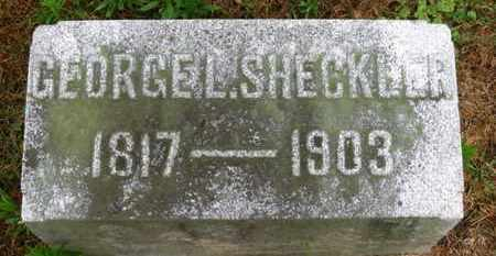 SHECKLER, GEORGE L. - Marion County, Ohio | GEORGE L. SHECKLER - Ohio Gravestone Photos