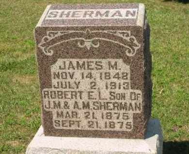 SHERMAN, ROBERT E. L. - Marion County, Ohio | ROBERT E. L. SHERMAN - Ohio Gravestone Photos