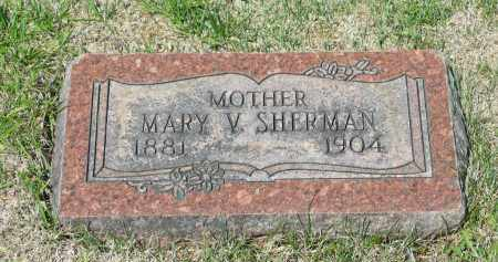 SHERMAN, MARY V. - Marion County, Ohio | MARY V. SHERMAN - Ohio Gravestone Photos